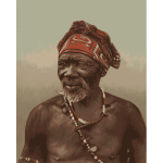 South African medicine man