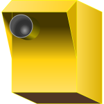 Vector graphics of speed camera