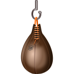 Boxing speedbag vector illustration