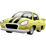 Sports car vector graphics