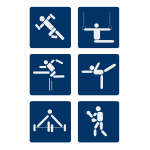Sport vector pictograms