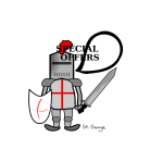 St George comic vector