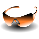 sun glasses orange
