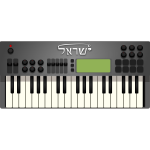 Synth vector image