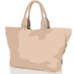 tan handbag no logo