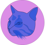 themanwithoutsex blue cat