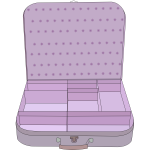 Suitcase vector graphics