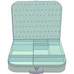 Suitcase vector illustration