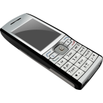 Vector illustration of mobile telephone