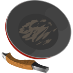 Broken frying pan