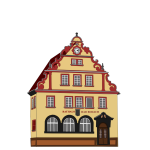 Vector image of Town Hall in Bad Rodach