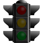 Traffic lights off