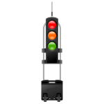 mobile traffic light