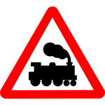 Road sign train