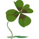 Four-leaves clover