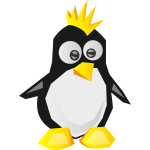Linux logo vector image