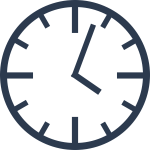 Simple clock vector graphics
