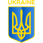 Vector image of coat of arms of Republic of Ukraine