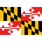 Flag of Maryland vector image
