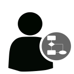 User workflow icon