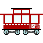 Train wagon vector graphics