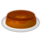 Candy pudding vector