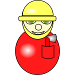 Fireman cartoon image