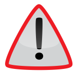 Warning and attention symbol