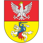 Vector drawing of coat of arms of Bialystok City