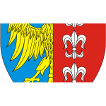 Vector clip art of coat of arms of Bielsko-Biala City