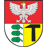 Vector image of coat of arms of Dabrowa-Gornicza City