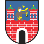 Vector clip art of coat of arms of Kalish City