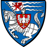 Vector image of coat of arms of Koszalin City