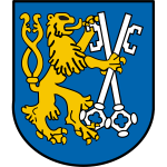 Vector graphics of coat of arms of Legnica City