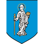 Vector image of coat of arms of Olsztyn City