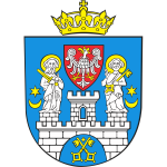 Vector drawing of coat of arms of Poznan City