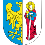 Vector image of coat of arms of Ruda-Slaska City
