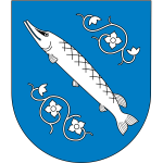 Vector clip art of coat of arms of Rybnik City