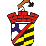 Vector drawing of coat of arms of Sosnowiec City