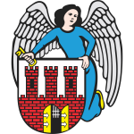 Vector clip art of coat of arms of Torun City