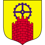 Vector clip art of coat of arms of Zabrze City