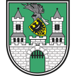 Vector graphics of coat of arms of Zielona Gora City