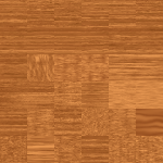 Brown wood grain pack vector drawing