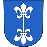 Vector image of coat of arms of Dietikon