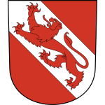 Vector illustration of coat of arms of Pfäffikon District