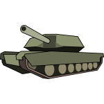 Tank vector graphics