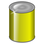 Yellow can