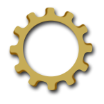Gear wheel vector graphics