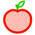 Apple vector art